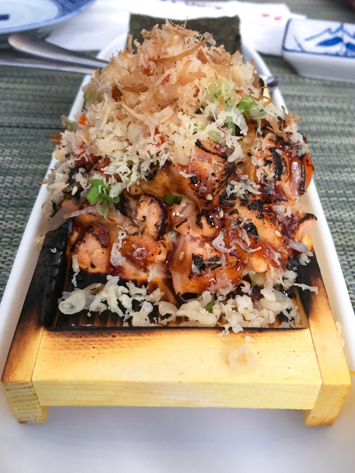 Spicy Salmon Bomb